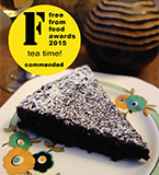 Commended at the 2015 Free From Food Awards, this gluten-free and dairy-free chocolate cake is deliciously fudgy. All ingredients gluten free and dairy free. Nut free also available
